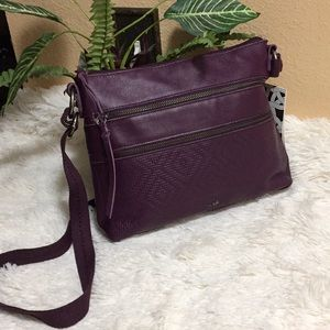 NWT The SAK Reseda Leather Crossbody